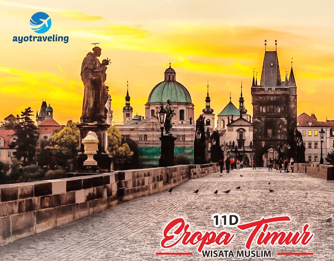 Paket Tour Wisata Muslim Eropa Timur 11 Hari November - Desember 2018