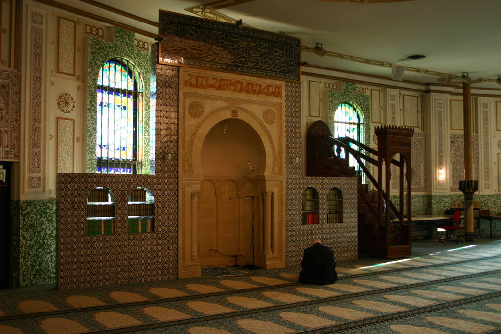 Mihrab di Islamic Center Brussels