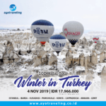 "PAKET WISATA ""HALAL TOUR 10D BEST OF TURKEY (WINTER IN TURKEY)"" NOVEMBER 2019"